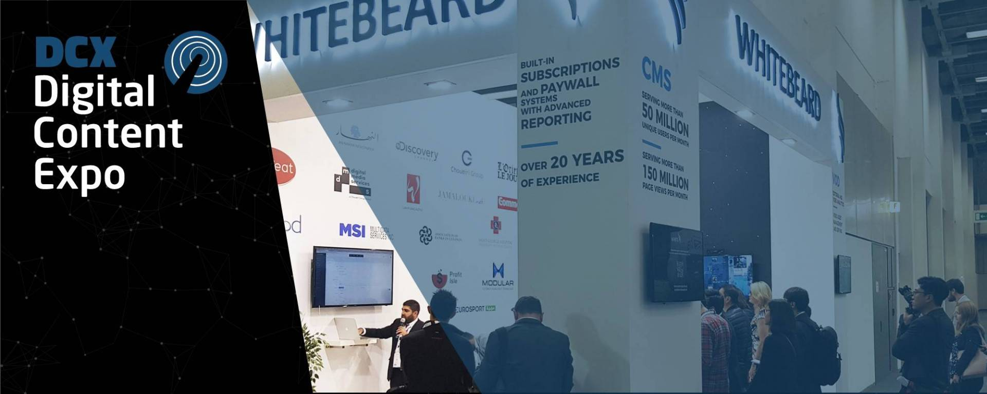 WhiteBeard participates in WAN-IFRA Digital Content Expo 2017